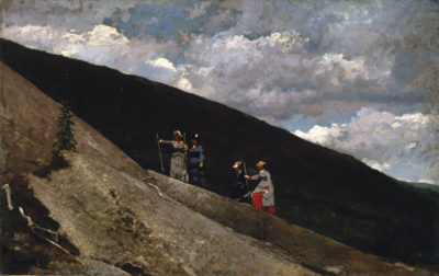 Winslow Homer In the Mountains