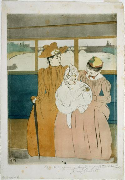 Mary Cassatt In the Omnibus