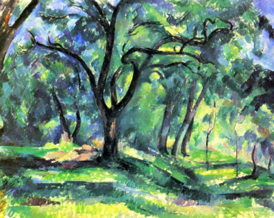 Paul Cézanne In the Woods