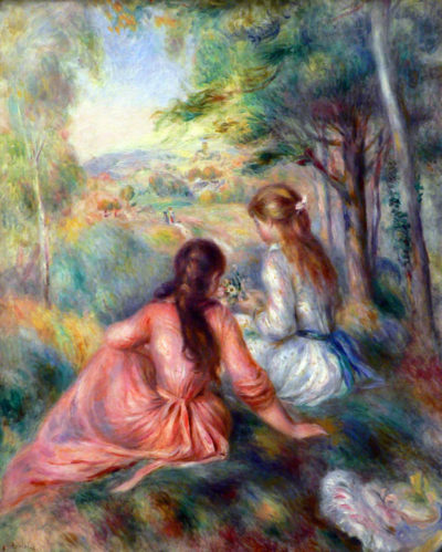 Pierre-Auguste Renoir In the meadow
