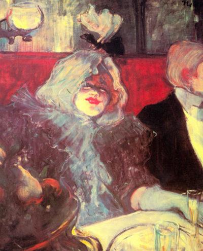 Henri de Toulouse-Lautrec In the particular cabinet