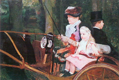 Mary Cassatt In the wagon