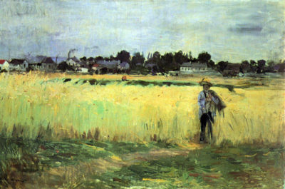 Berthe Morisot In wheat field