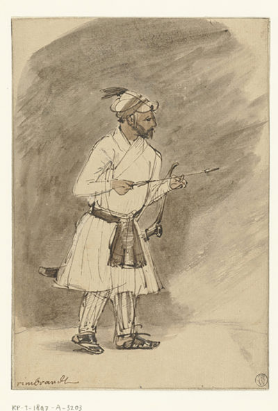 Rembrandt Harmensz. van Rijn Indian Archer