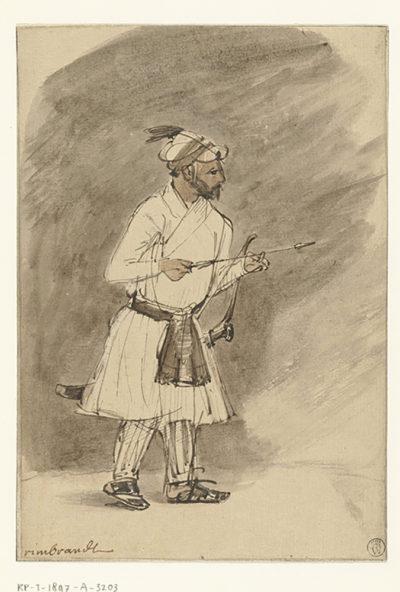 Rembrandt Harmensz. van Rijn Indian Archer