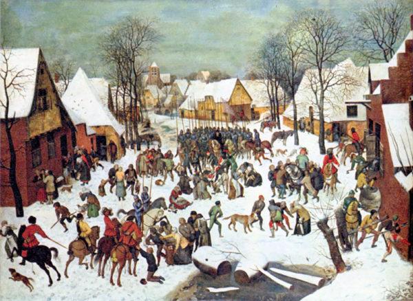 Pieter Bruegel Infanticide in Bethlehem