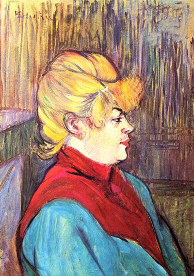 Henri de Toulouse-Lautrec Inhabitant of the House of Joys