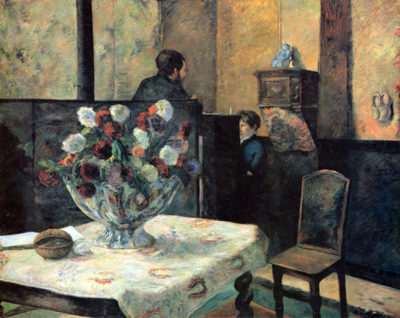 Paul Gauguin Interior of the Painter's House