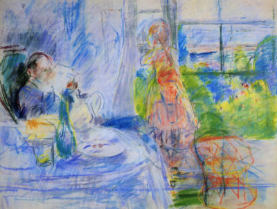 Berthe Morisot Interior on Jersey