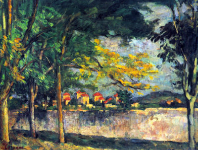 Paul Cézanne Into Street