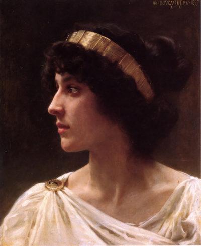 William-Adolphe Bouguereau Irene