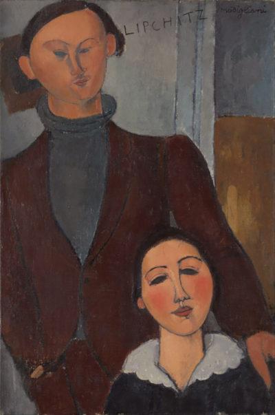 Amedeo Clemente Modigliani Jacques and Berthe Lipchitz