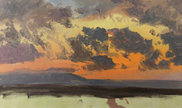 Frederic Edwin Church Jamaican sunset