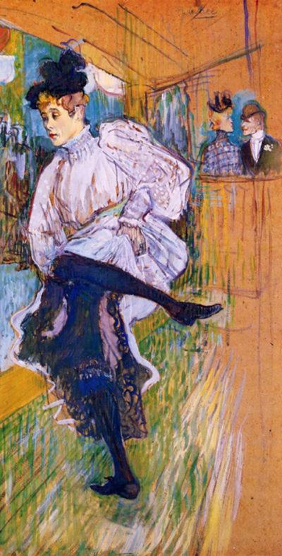 Henri de Toulouse-Lautrec Jane Avril dances