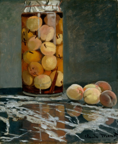 Claude Monet Jar of Peaches