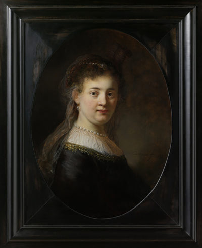 Rembrandt Harmensz. van Rijn Young Woman in Fantasy Costume