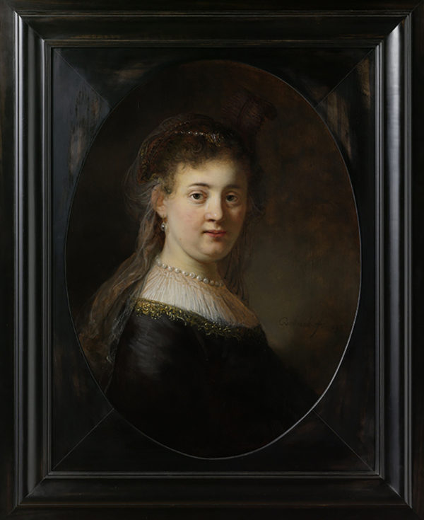 Rembrandt Harmensz. van Rijn Young Woman in Fantasy Costume