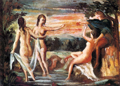 Paul Cézanne Judgement of Paris