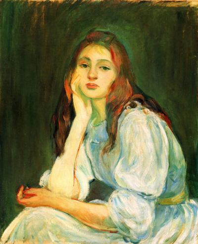 Berthe Morisot Julie dreaming