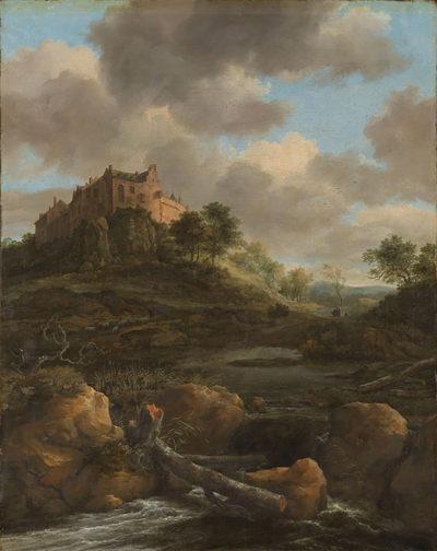 Jacob Isaacksz. van Ruisdael Bentheim Castle