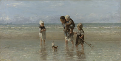 Jozef Israëls Children of the Sea
