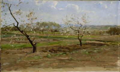 Victor Westerholm Kukkivia hedelmäpuita