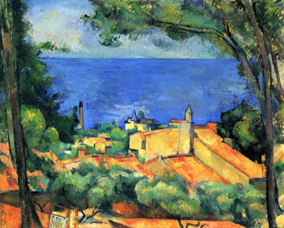Paul Cézanne L'Estaque with Red Roofs