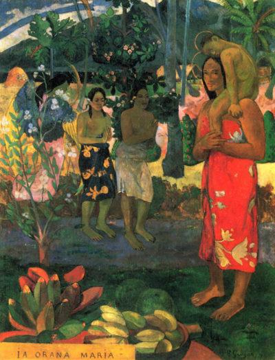 Paul Gauguin La Orana