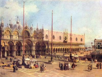 Canaletto La Piazza San Marco