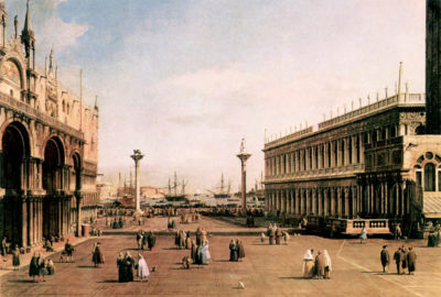 Canaletto La Piazza by Canaletto