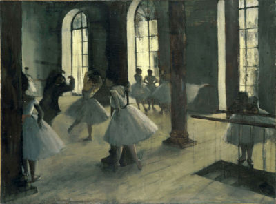 Edgar Degas La Repetition au foyer de la danse
