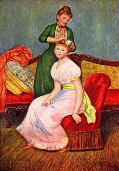 Pierre-Auguste Renoir La coiffure