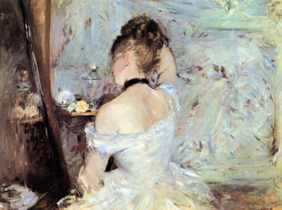 Berthe Morisot Lady in the Toilet
