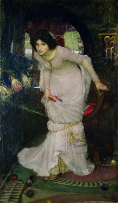 John William Waterhouse Lady of Shallot