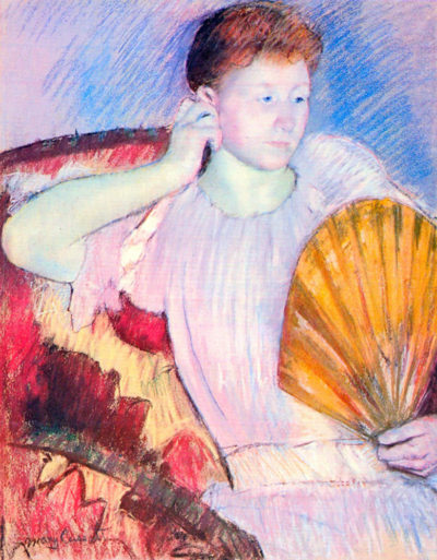 Mary Cassatt Lady with Fan