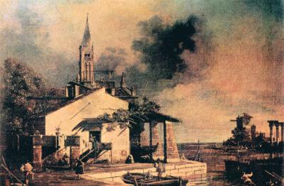 Canaletto Lagoon landscape
