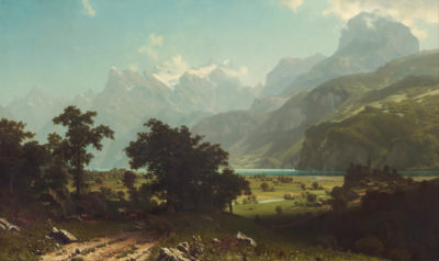 Albert Bierstadt Lake Lucerne