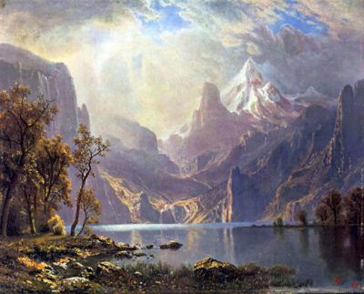 Albert Bierstadt Lake Tahoe