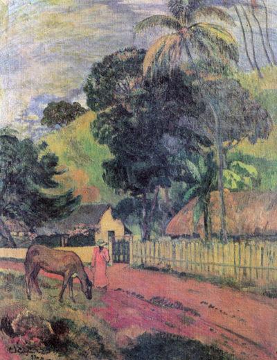 Paul Gauguin Landscape