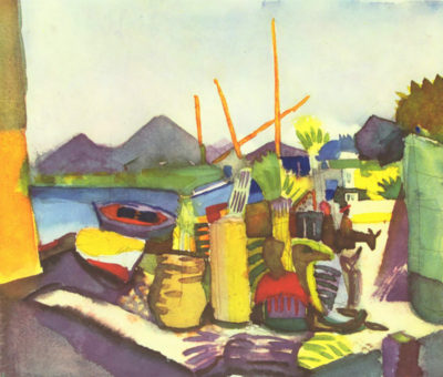August Macke Landscape at Hammamet