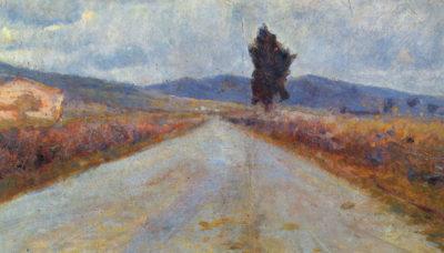 Amedeo Clemente Modigliani Landscape in the Toscana