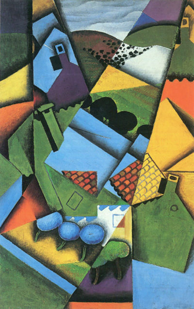 Juan Gris Landscape with houses in Ceret