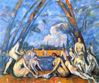 Paul Cézanne Large Bathers