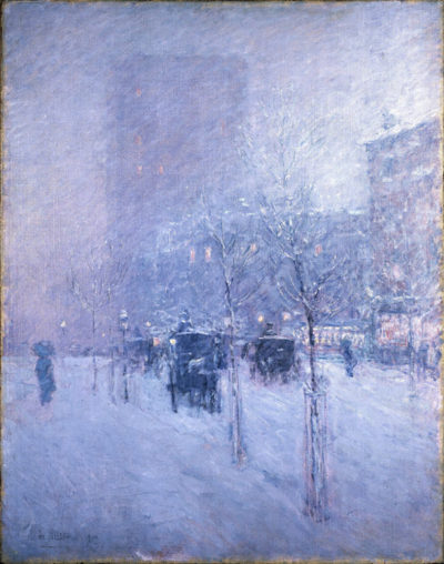 Childe Hassam Late Afternoon