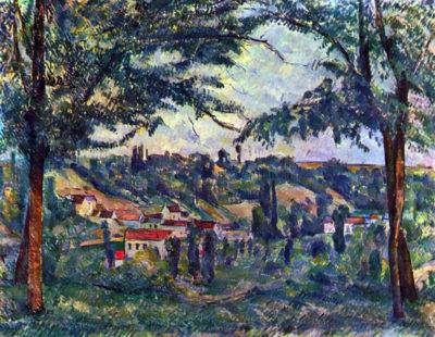 Paul Cézanne Le Chateau Noir