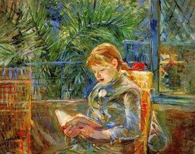 Berthe Morisot Little girl