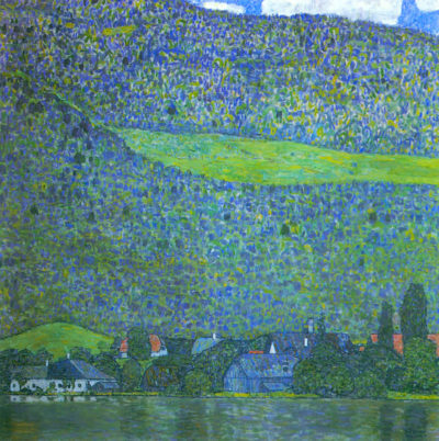 Gustav Klimt Litzlberg on Lake Attersee