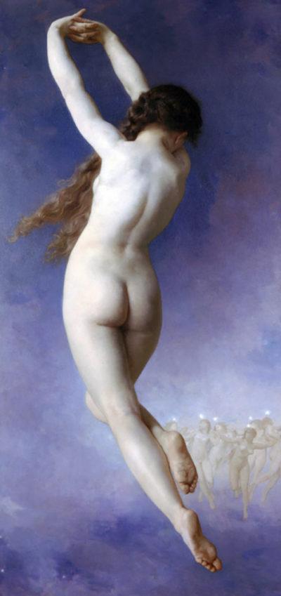 William-Adolphe Bouguereau Lost Pleiad