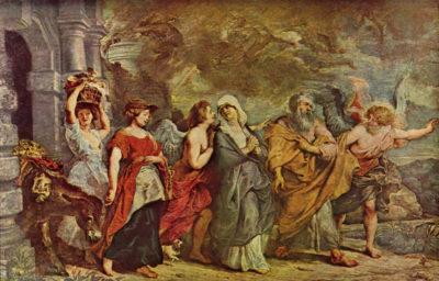 Peter Paul Rubens Lots escape