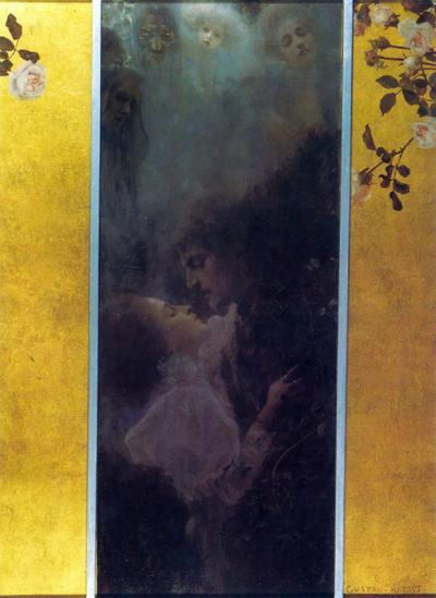 Gustav Klimt Love